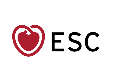 logo of ESC, the largest medical conference in Europe