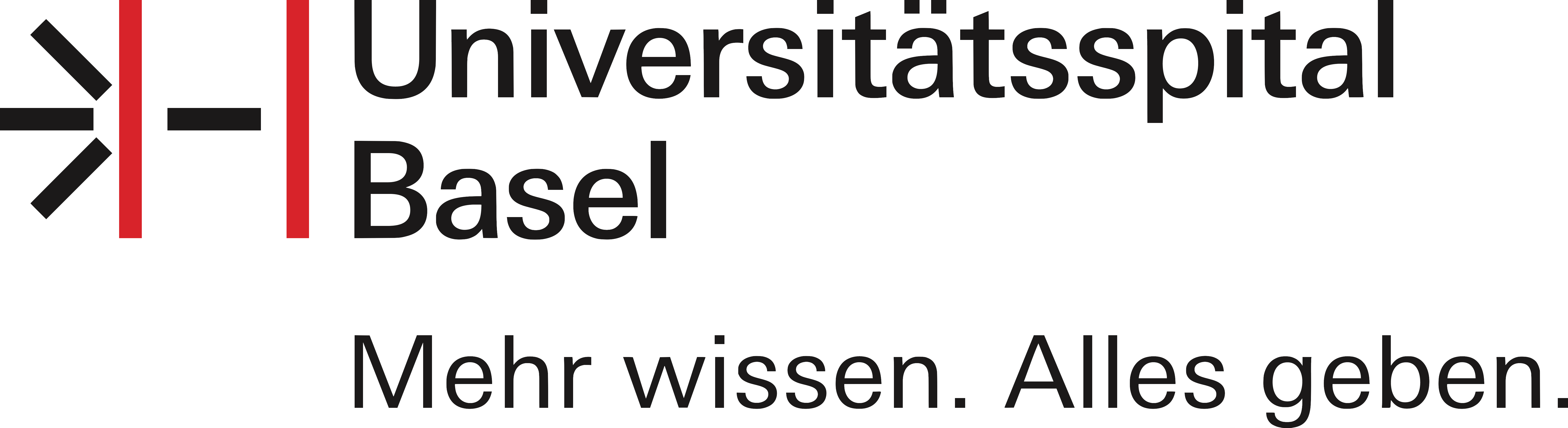 university hospital basel corporate logo