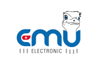 emu electronics corporate logo
