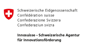 logo of Innosuisse, the Swiss Federal Agency for Innovation